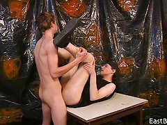 Luis Blava - Two Twinks have Passionate Bareback Sex