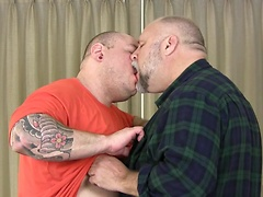 Thick Power Lifter Bruiser Bull and Sexy Daddy Wayne Daniels