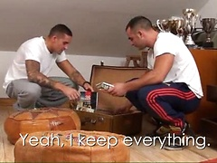 Seducing your straight friend is always risky business. Manuel Lopez knows it very well after inviting his buddy ...