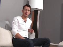 Bryan masturbates