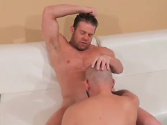 European Porn Star Manuel Rokko Fucked Deep, Hard And Raw By Darius Soli