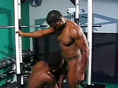 Beefy muscle stud Soloman Gregory has a new protege. Hot Boi is keen to learn all he can from his buff mentor in the ...