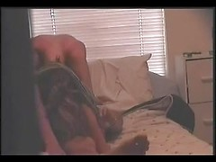Sexy girlfriend gives excellent deepthroat blowjob and rides huge cock