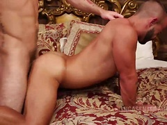 Rafael Lords And Sergeant Miles Suck And Fuck Bareback